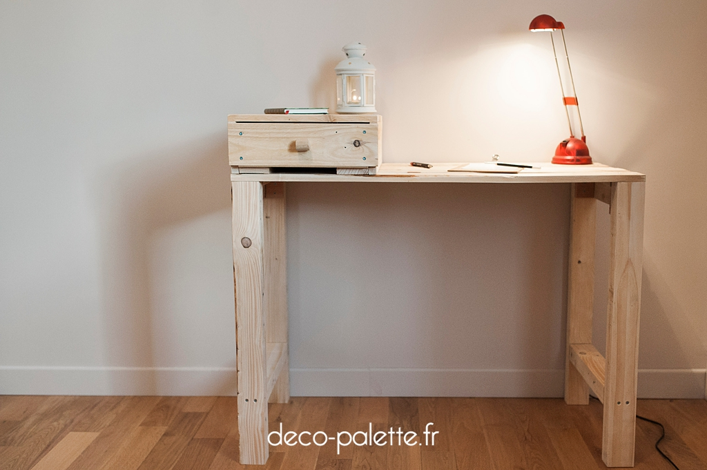 Bureau boutique deco palette